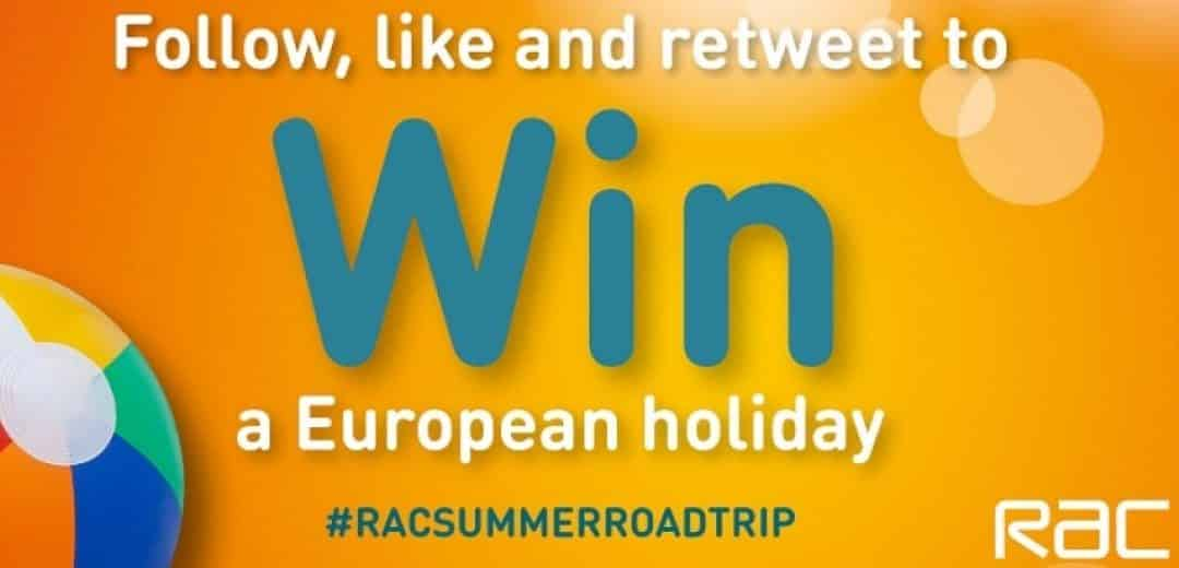 WIN a European Holiday with the RAC