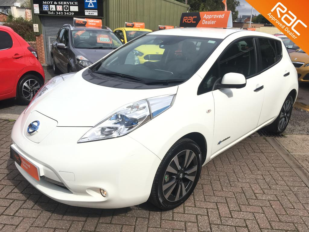 Nissan Leaf for sale at wirral small cars