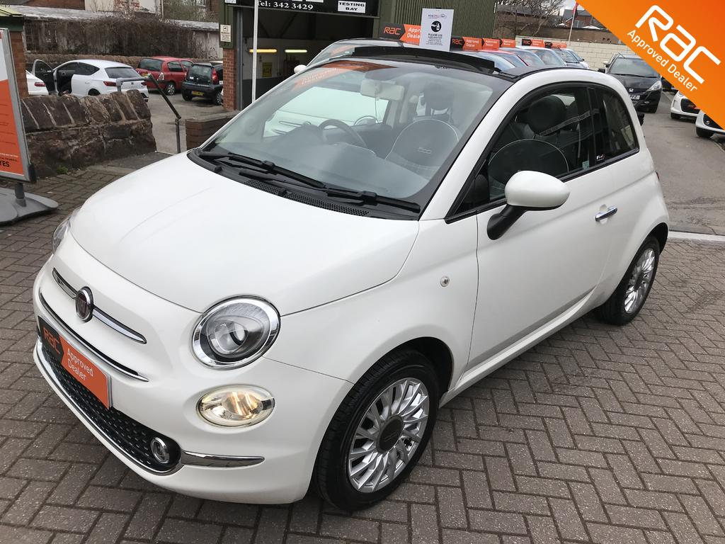 Fiat 500 Convertible for sale at Wirral Small Cars