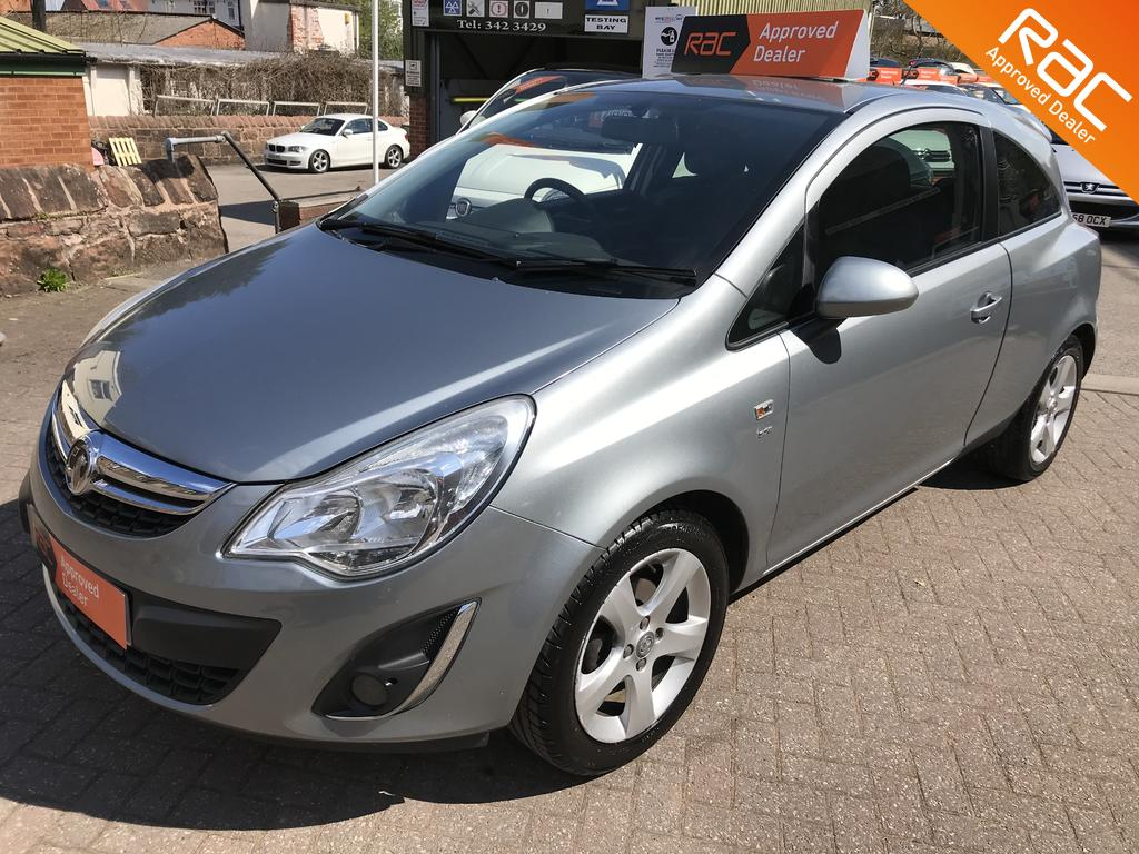 Vauxhall Corsa for sale at Wirral Small Cars