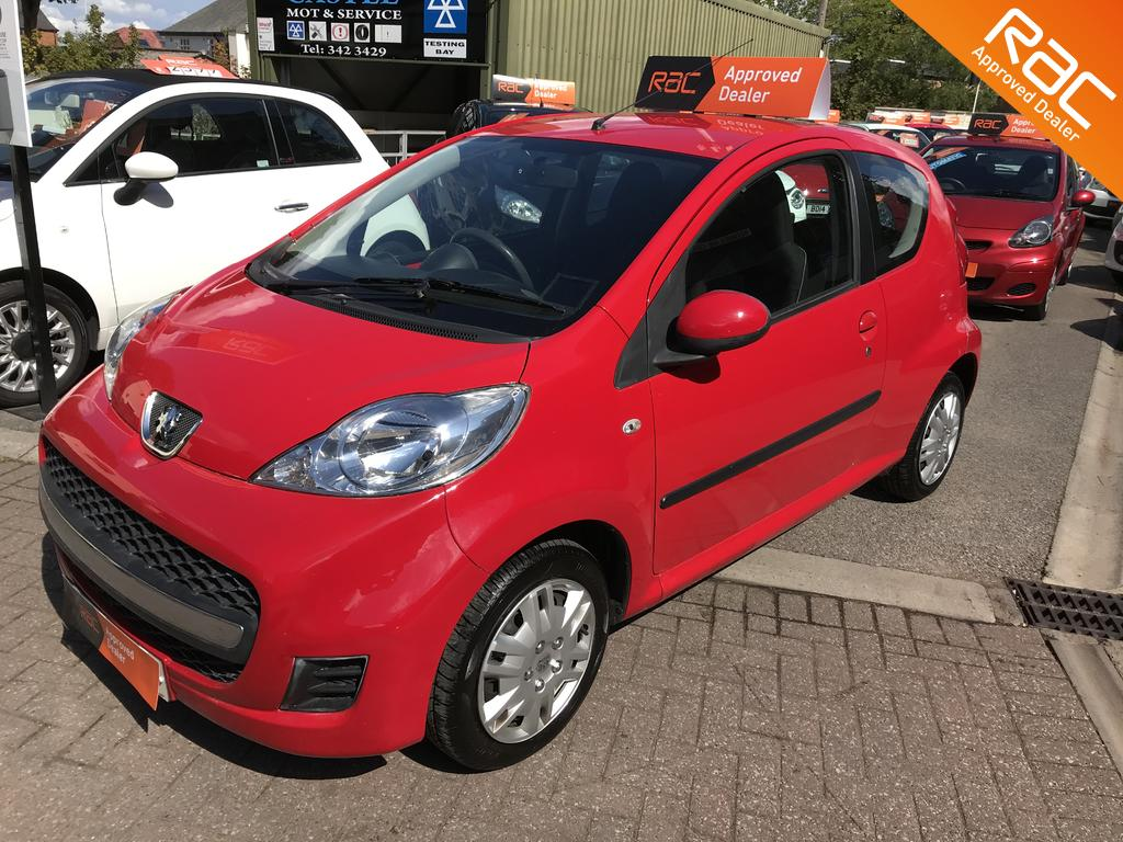 Peugeot 107 for sale at Wirral Small Cars