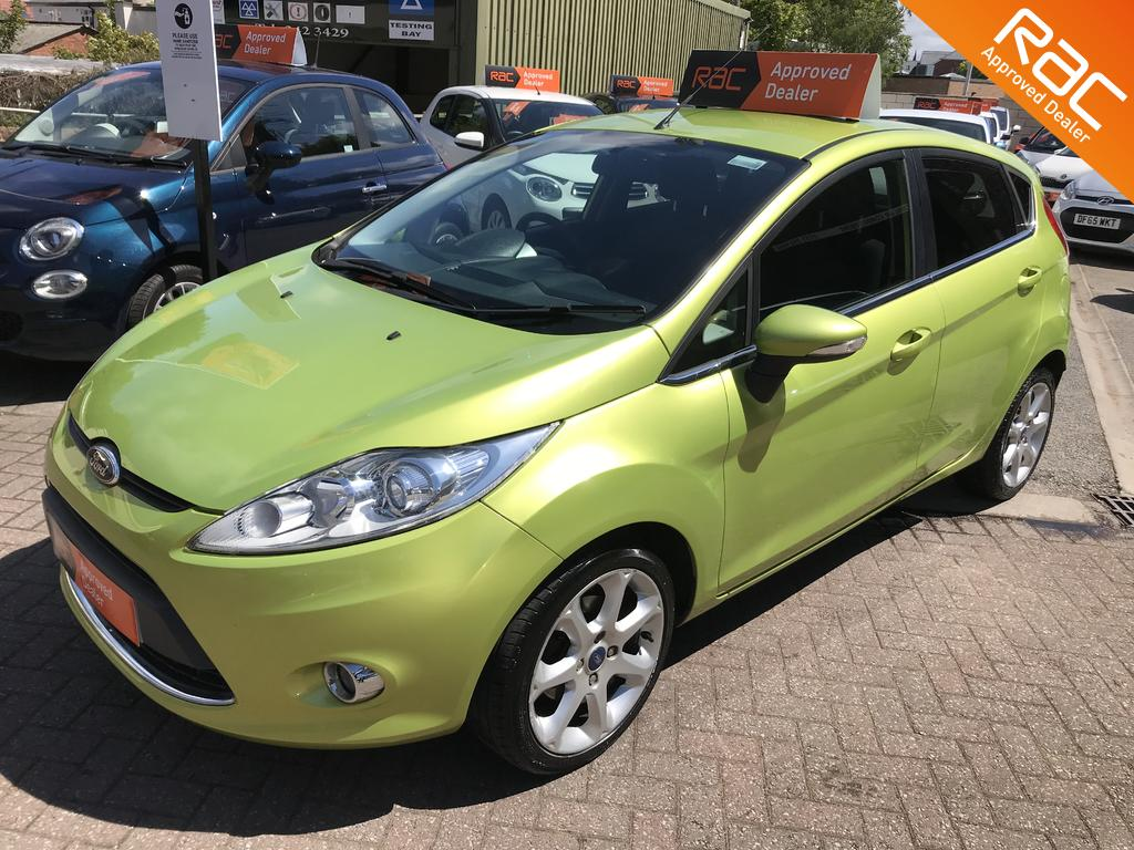Ford Fiesta Zetec for sale at wirral small cars