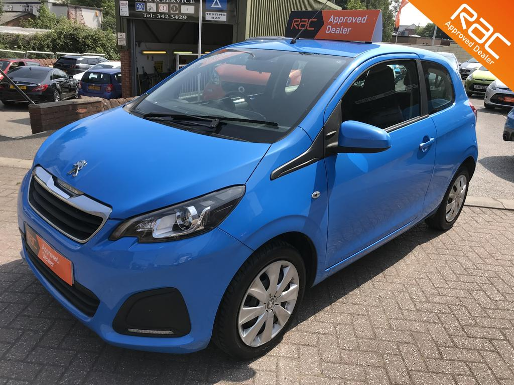 Peugeot 108 for sale at Wirral Small Cars Heswall