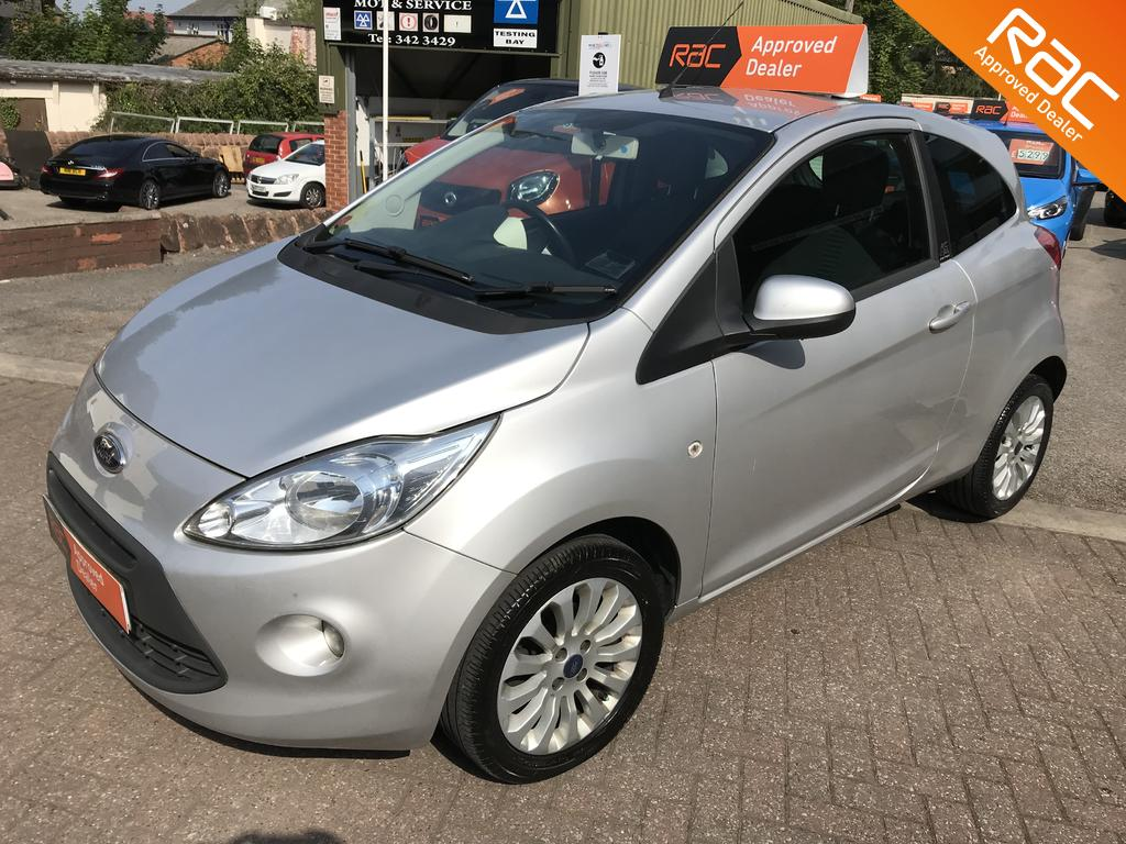 Ford KA Zetec for sale at wirral Small Cars