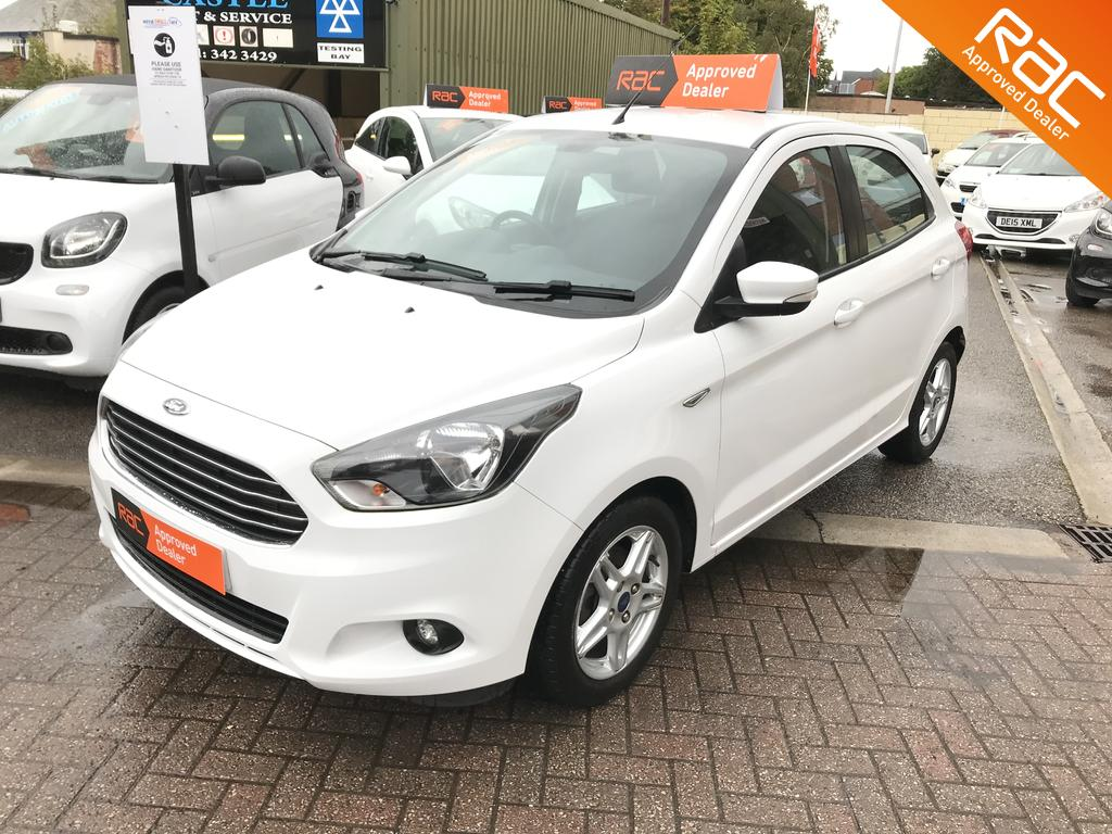 Ford KA+ for sale at Wirral Small Cars